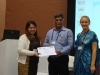 director-hwa-dr-rajanikant-honoured-by-assist-ceo-ms-olga-at-adb-annua-meet-at-greater-noida-on-3rd-may2013