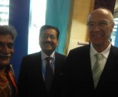 Dr.Rajanikant with the Ambessedor of India in Geneva & Secretary General of WIPO, Geneva