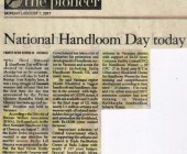 National Handloom Day-The Pionner 08.08.2017